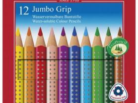 Акварельные карандаши Faber-Castell Grip, 12 цв