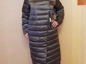 Новый стильный зимний пуховик  44 46 48 50 52 54