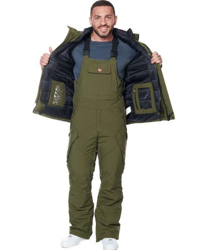 Мужская куртка, сезон 2019-2020, арт. A-8858, Хаки