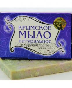 Крымское мыло 50 гр С Морской Солью