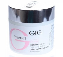 крем GIGI VITAMIN E Hydratant SPF 17 for oily & large pore