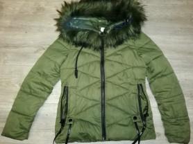 Куртка на синтепоне р. 42, с капюшоном
