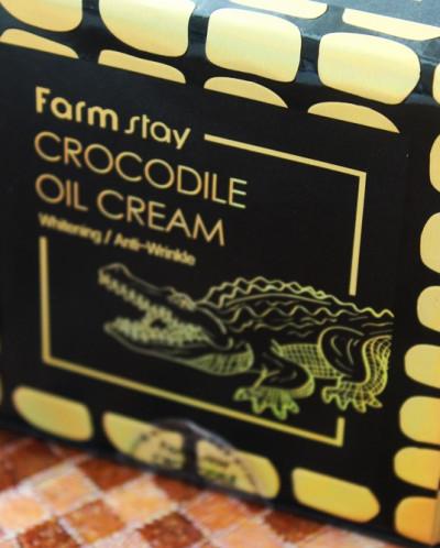 ХИТ!!! Крем с крокодильим жиром [FARM STAY] Crocodile Oil Cr
