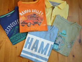 Пять футболок + плавки в подарок (8 лет)