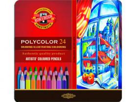 """Набор карандашей цветных Koh-I-Noor """"Polycolor"""" 24"""