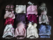 Новые и б/у шапочки демисезонные/зимние на 47-52