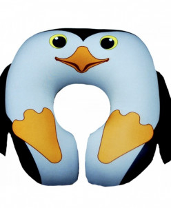 Подушка под шею Игрушка Пингвин