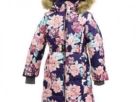 Новое теплое зимнее пальто Хуппа 146 и 152