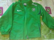 Куртка от спортивного костюма Найк р.104-110, ярка