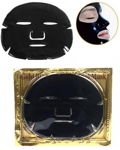 Коллагеновая увлажняющая черная маска для лица