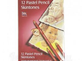 """12 пастельных карандашей Derwent """"Pastel Pencils"""""""