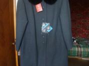 Новое,женское,зимнее пальто с мехом опоссума 56р.