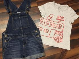 Комбинезон+футболка Gap