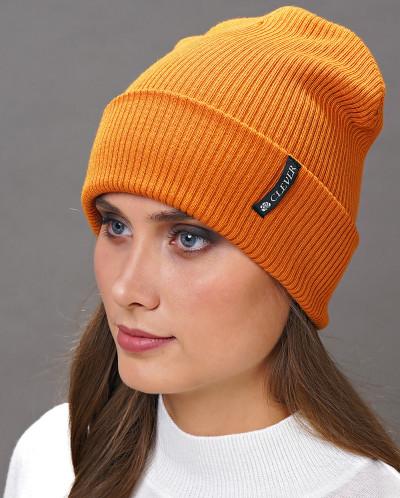 81776 Шапка (CLEVER)св.оранжевый