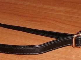 Ремень плечевой для сумки кожзам черный 2 см