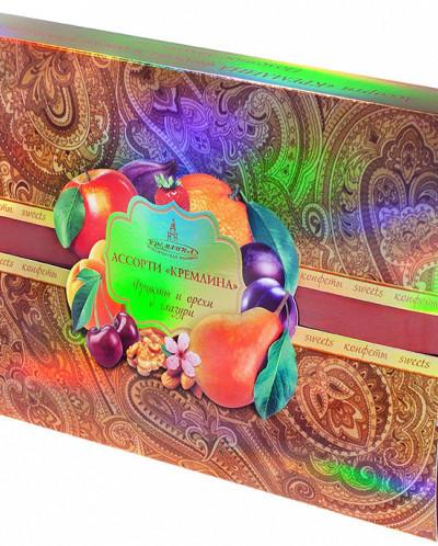 Ассорти Кремлина фрукты и орехи в глазури 500гр