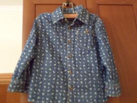 Стильная рубашка на мальчика 2-4 лет