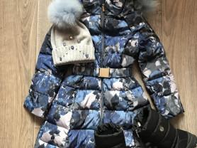 Пальто Noble people+Шапочка+сапожки