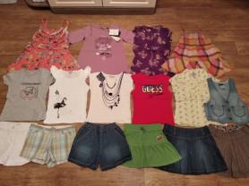 фирменные вещи для девочки 6-8 лет+ отдам