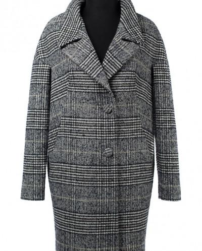 01-9044 Пальто женское демисезонное