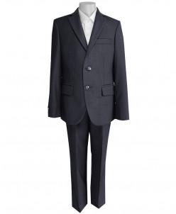 Школьный костюм-тройка для мальчика UNIK KIDS, темно-серый