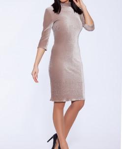 50416 Платье Бежевый