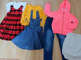 Одежда для девочки 110-116 см пакетом Next nutmeg