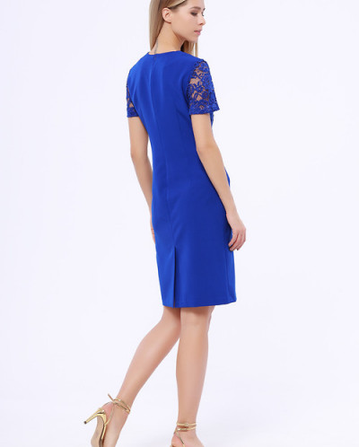 89451 Платье (ТРиКа)Синий