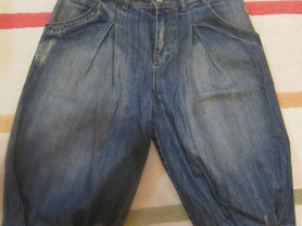 джинсовые бриджи MARC JACOBS размер S-М