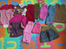 Пакет модной одежды для девочки 80+ (15 шт)