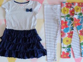 Одежда для девочки 110+ см. Пакетом дешевле.