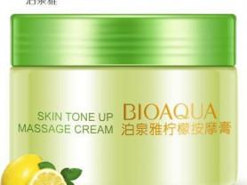 Массажный крем с экстрактом лимона BioAqua
