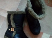 Ботинки женские зима р.36... С прошивкой отдам