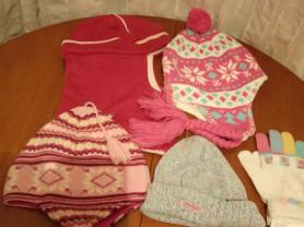 Шапки Kerry, Mexx и другие и новые перчатки