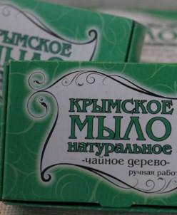 Крымское мыло 50 гр Чайное дерево