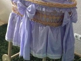 Колыбелька, плетеная люлька из лозы