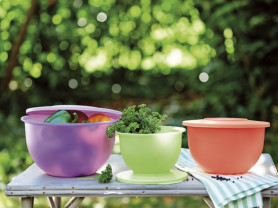 Новая посуда Tupperware