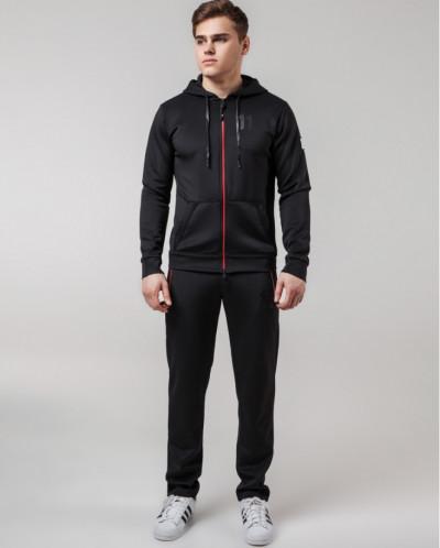 Черно-красный спортивный костюм Киро Токао удобный модель 42