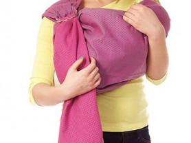 Слинг-шарф с кольцами Mum's Era