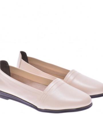 Женские кожаные туфли на низком ходу (размер 39)