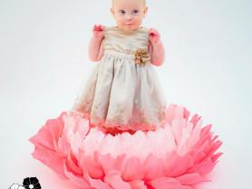 Цветок Дюймовочки для фотосессий и фотосъемок ново
