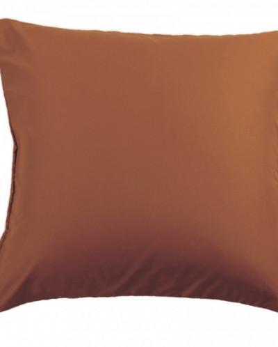NC-04 Наволочки сатин (шоколадный) 70x70-2 шт.