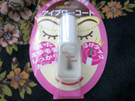 Eyebrow Coat от Daiso