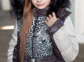 "Пальто зимнее ""Леопард"""