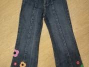 Gymboree джинсы б/у, 5-6лет