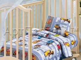 Детское постельное белье в кроватки