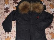Новая Куртка - Пуховик с натуральным мехом