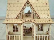 Деревянный кукольный домик Кантри