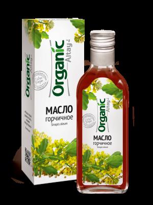 """Масло горчичное 250 мл серия """"Organic"""""""
