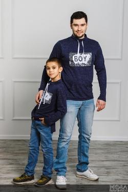 "Комплект мама+дочка+сын ""BOY\GIRL"""